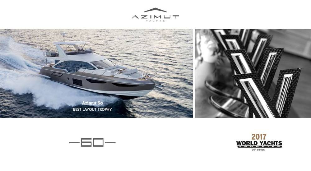 Azimut 60 New - Best Layout Trophy in the 50' to 80' category