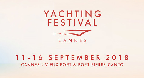 CANNES YACHTING FESTIVAL - 11-16 SEPTEMBER 2018