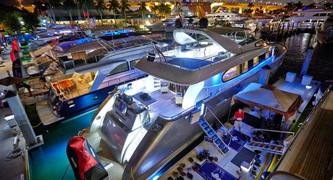 Die International Boat Show in Fort Lauderdale